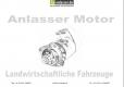 1a-Anlasser.de - Katalog der Anlasser für Landmaschinen